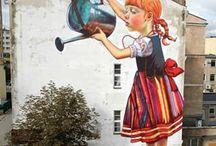 Street art / Arte de ruas, grafites e mita criatividade.