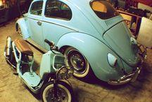 Cars & motorbikes / Vw's & Vespa's