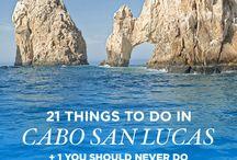 Los Cabos Vacation Ideas! / Los Cabos!!