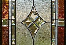 Porta de vitral