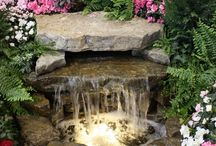 Garden fountains
