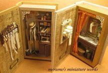 libri miniature 3D