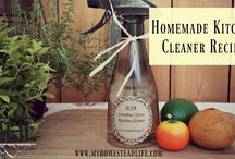 DIY Cleaners / Do it yourself eco-friendly and non-toxic cleaners. Go to http://myhomesteadlife.com/ to read more.