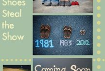 Baby Announcement Ideas / by Jessica Schonter