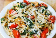 Pasta / Yup - quick easy flavorful yummy pasta - no more no less - my go to list