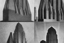 architectural drawings/sketches