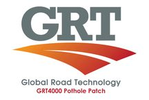 Global Road Technology GRT4000 Pothole Patch / GRT4000 is a specially formulated advanced polymer designed specifically for the effective maintenance and repair of asphalt, concrete and bitumen roads without delamination. In an extremely simple application process, GRT4000 provides a long lasting and cost-effective repair method with the help of water; a small compactor, a local road base and a single labourer and roads can be used immediately following application and repair.