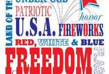 Red, White and Blue!  / Ideas, lessons and freebies for celebrating the life of Presidents. / by Teaching Blog Addict