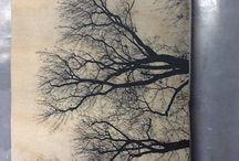 Kuvan siirto puulle