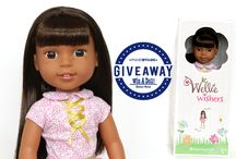 AG Wellie Wishers / Giveaway for these dolls and outfits I make for them