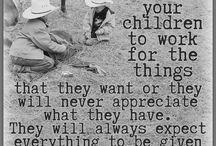 Raising grounded & non self entitled kids
