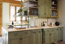 interior design / kitchen cabinets