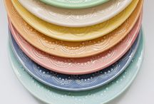 pretty plates / by Chris Kelly-Stewart