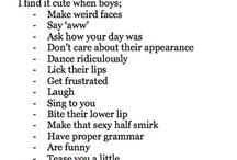 Boys are cute when.....