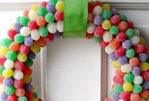 DECORATIVE CANDY IDEAS / ATRACTIVE & APPEALING DISPLAYS OF DECORATED CANDY & TREATS. FOR ALL SEASONS, PARTIES, SPECIAL EVENTS & MORE