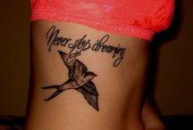 tattoos / by Katlin Beckham