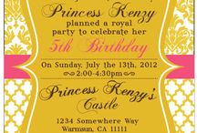 birthday cards and invites
