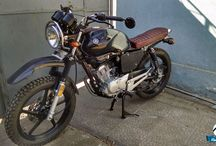 Motorcycle / Motorcycles, parts, styles, customs, scrambler, street trucker, cafe racer, originals, cool ones and heros/legents etc... / by Orkun Alper