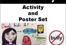 Bullying Activities and Poster Set / Bullying Activities and Poster Set. Bullying can cause hurt feelings, tears, and emotional scars. This pack helps define the many different types of bullying as well as how to handle it in different situations. This resource helps define the bullying as well as how to handle it in different situations.