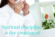 Spiritual Disciplines and Spiritual Practice / Creating time for God each day, and following Spiritual Disciplines leads to reaping fruits of the spirit!