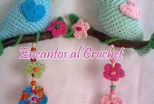 pajaritos al crochet