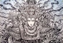 TRIPPED OUT! / collection of trippy images and quotes. check if you like tripping.