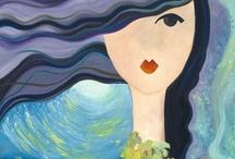 32- Simple paintings / by Katayoon Moghaddam- Soroush