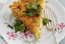 Brunch - Lunch / Recipes for brunch or luncheons