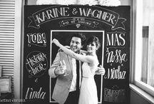 Fotos criativas para casamento / Criatividade nas fotos do casamento para inovar!