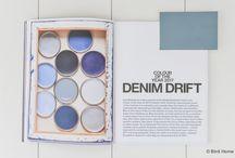 Denim Drift kleur van 2017 / Flexa Kleur van het jaar 2017 Denim Drift