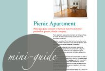 Barcelona  / Picnic Apartment's board. With tips, places & spaces we love in our city!