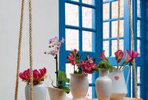 Vasos e jardins