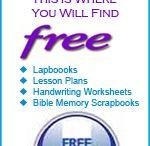 Free homeschool stuff  / by Leslie Block
