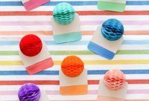 PARTY | honeycomb ideas