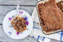 Rhubarb / Delicious sweet and savory recipes using Rhubarb