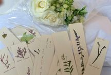 Recuerdos de boda (souvenirs) / Recuerdos de boda o de cualquier evento. Están hechos a mano con algas y plantas secas. Ideales para amantes de la naturaleza.