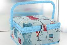 Boites couture collection Automne Hiver 2013/14 / Les nouvelles boîtes couture sont arrivées, ainsi que les trousses de voyages, les sacs tricot et les étuis pour les aiguilles à tricoter