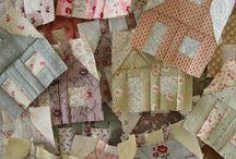 Little House scrap quilts