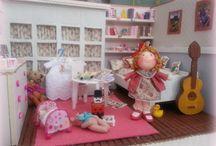 Tumima Dolls,miniaturas y broches de muñecas