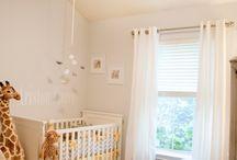 Nursery and toddler room ideas / by Hannah Chagnon