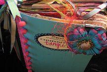 Ideas: Junk/Smash Journals/Gluebooks / by Barbara Lane