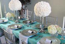 Синие свадьбы тиффани