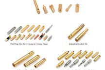 BRASS SOCKET PINS / Manufacturer of brass auto parts, brass earthing components, brass lpg parts, brass sanitary parts, brass building hardware, brass fasteners, brass automobile parts, brass turned parts,brass electrical parts.  Brass Transformer Parts, LPG Gas Fittings, Brass Neutral Links, Brass Socket Pins, Flare Fittings, Brass Forged Fittings, Hose Bars Fitting, Brass Compression Parts, Brass Earthing Parts, Fastener Fixtures, Brass Inserts, Brass Anchors, Pneumatic Parts, Brass Nut & Washers