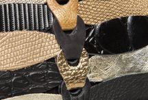 Braided Leather Clutches/Purses - Style Elfa / Braided Leather Clutches/Purses