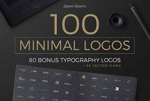 minimal logo templates