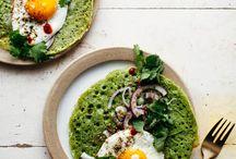 Healthy breakfast or lunch