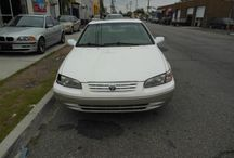 Used 1999 Toyota Camry for Sale ($2,800) at Paterson, NJ /  Make:  Toyota, Model:  Camry, Year:  1999, Body Style:  Tractor, Exterior Color: White, Interior Color: Gray, Vehicle Condition: Excellent, Mileage:187,000 mi,  Engine: 4Cylinder 2.2L L4 DOHC 16V, Transmission: Automatic, Fuel: Gasoline Hybrid.   Contact; 973-925-5626   Car ID (56683)
