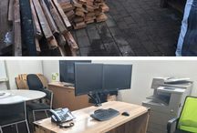Up-cycling / Recycling / Something us here at Buildology are extremely passionate about - Check out some of the desks we have made using up-cycled Rimu from some of our clients renovations! Note: I will tag in our website for the photos that are ours, photo's that aren't tagged with ou website link is not our <3