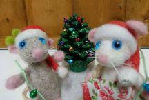 Christmas decoration ideas mouse mice