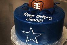 NFL bday cake